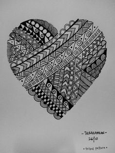 62 ideas zentangle art dibujos mandalas for 2019 - 62 ideas zentangle art dibujos mandalas for 2019 - Doodle Art Designs, Easy Doodle Art, Doodle Art Drawing, Cool Art Drawings, Zentangle Drawings, Art Drawings Sketches, Pencil Art Drawings, Zentangle Patterns, Zentangle Art Ideas