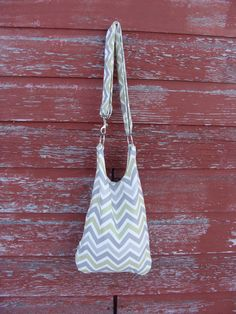 Chevron Green/Gray Wine PurseHolds up to a 3L bag of by W2Handbags, $40.00