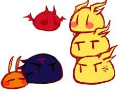 All Godzilla Monsters, Godzilla Comics, Cute Kawaii Animals, Kawaii Art, King Kong, Anime Comics, Anime Love, Art Sketches, Pikachu