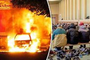 SHOCKING footage of cars burning out in Stockholm has emerged as the fire epidemic continues to spread uncontrolled throughout crisis-hit Sweden.