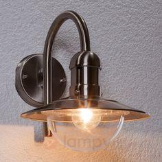 Damion - nowoczesna zewnętrzna lampa ścienna stal 9960017