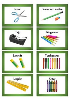 Materialbilder.pdf – OneDrive Back To School Organization, Classroom Organization, Activities For Kids, Crafts For Kids, Classroom Labels, Teaching English, Special Education, Teaching Resources, Preschool