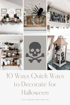 Need some quick ideas to get your home ready for Halloween? I am sharing my 10 simple strategies for getting my home ready for Halloween in just an afternoon! CITYGIRLMEETSFARMBOY
