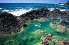 Natural Pool, New Zealand