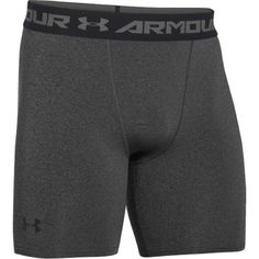 UNDER ARMOUR HEATGEAR MID-COMPRESSION SHORTS Armour is the First Thing You Put On and the Last Thing You Take Off, Every Time You Workout or Compete UA HeatGear Fabric, With All the Benefits of UA Com