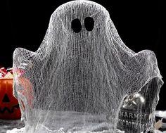 Comment fabriquer un fantôme en transparence qui semble s'élever dans les airs - Des idées