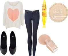 """""""Cute Lazy Outfit"""" by breannaleighsloan on Polyvore"""