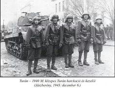 Turan tank and crew