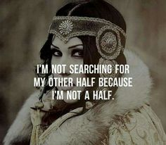I'm not searching....