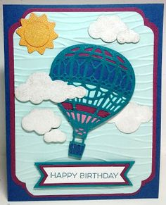 created by Carlene Prichard: Chatterbox Creations: A Husband's Birthday is Soon! - 1/26/17.  (Pin#1: Chatterbox Creations.  Pin+: Airplane/ Air Balloon...; Nature: Clouds...).