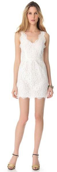 Rori Lace Dress - Lyst