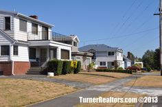The streets and homes of the St. Johns neighborhood in Portland, Oregon. Portland Neighborhoods, Columbia River, The St, Portland Oregon, Small Towns, The Neighbourhood, University, Homes, Mansions