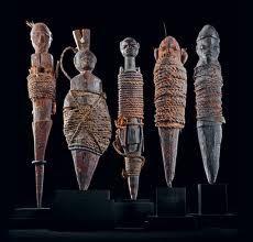 Poppets - african fetish dolls