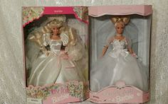 Lot of 2 Rose Bride Barbie and Dream Bride Barbie from The 90'S | eBay