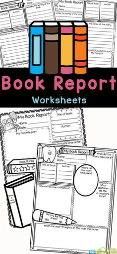 Make sure kids are understanding what they read with these free book reports. This 3rd grade book report is super handy, as it is no-prep and works with any book. Use this book report template to ensure readers are understanding what they are reading. Thesebook report form has many spots for children from second grade, third grade, fourth grade, and fifth graders to write down information about the book including the title, author, setting, main characters and the ending. Simply print the free
