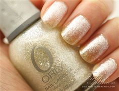 Must get this color!   Winter Wonderland, Orly.