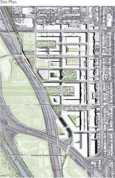 2009 ULI Hines Urban Design Competition - Siteplan