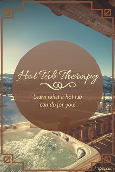 Hot tubs were originally created for use as therapy in cases of rheumatoid arthritis. Learn how hot tub therapy can help you! #hottubs #health #healthbenefits #hottubtherapy #ihtspas #spatherapy #arthritis #hotwatertherapy