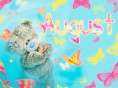 AUGUST ♡ Tatty Teddy tjn
