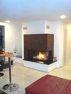 ein tunnelkamin von brunner aus dem architekturprogramm der einsatz hat mit ca 160 cm breite. Black Bedroom Furniture Sets. Home Design Ideas