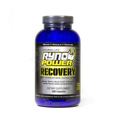Ryno Power Recovery Supplement Capsules