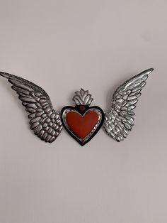 Aluminum Can Crafts, Metal Art, Pewter, My Heart, Folk Art, Hearts, David, Valentines, Craft