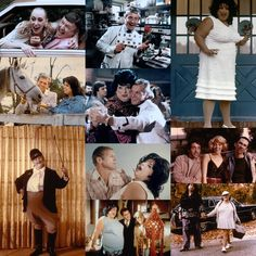 """John Waters' Polyester (1981). Released in """"Odorama"""" starring Divine (as Francine Fishpaw) and Tab Hunter (as Todd Tomorrow), with Edith Massey, David Samson, Mary Garlington, Ken King, Mink Stole and Stiv Bators Stiv Bators, Tab Hunter, Mink Stole, John Waters, Mary, David, King, Actors, Actor"""