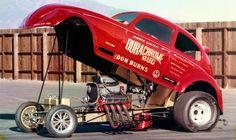 The DURACHROME VW Funny Car at OCIR