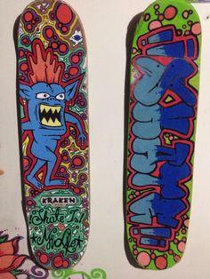 Arte skateboard