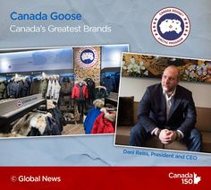 Canada Goose is a Great Canadian Brand in our books. Canada 150, Canada Goose, Global News, Arctic, All About Time, Presidents, Books, Libros, Book