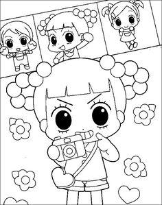 안녕 자두야 색칠공부 색칠자료 이미지 모음 :: 만화영화☆색칠공부!