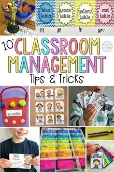 10 positive classroom management ideas, tips, and tricks that will help your classroom run smoother and keep kids engaged in their learning. Tons of FREE resources included. #classroommanagement #classroomorganization #teacherfreebies #classroom #teachingtips