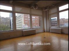 corner-office-space-loft-downtown montreal/quartier des spectacles