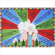 bulletin board idea Bible Bulletin Boards, Christian Bulletin Boards, School Bulletin Boards, Sunday School Lessons, Sunday School Crafts, Bible Story Crafts, Bible Stories, 10 Commandments, Religious Education