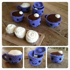 Hot chocolate and marshmallow playset