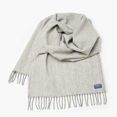 Ashby Twill Wool Scarf