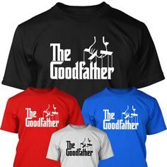 Grandfather T shirt Funny the godfather parody grandpa Grandad Present Gift Mens