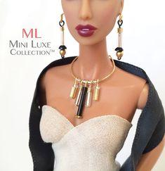 Fashion Doll Jewelry for 12 inch dolls - Fashion Royalty dolls, Poppy Parker, Barbie dolls, and Silkstone Barbie