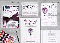 Bespoke wedding design Hayley and Marc