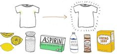 9 DIY Ways to Remove Sweat Stains from Clothes « The Secret Yumiverse