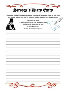 "FREE LANGUAGE ARTS LESSON - ""FREE A Christmas Carol: Scrooge's Diary Entry Writing Assignment"" - Go to The Best of Teacher Entrepreneurs for this and hundreds of free lessons.  http://thebestofteacherentrepreneurs.blogspot.com/2012/12/free-language-arts-lesson-free.html"