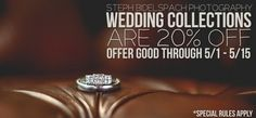 Special Wedding Collection 20% off Discount | Steph Bidelspach Photography  Oklahoma based Wedding Photographer!
