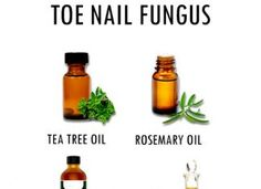 TREAT TOE NAIL FUNGUS WITH ESSENTIAL OILS