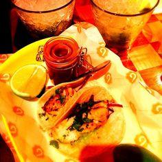 Fish tacos n caipirinhas with @smallhearts before Kwabs