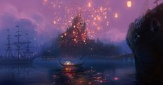 Amazing Tangled Concept Art You've Never Seen