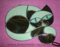 """Животные ручной работы. Ярмарка Мастеров - ручная работа """"Кисуня с бабочкой"""". Handmade."""