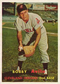 195 - Bobby Avila - Cleveland Indians