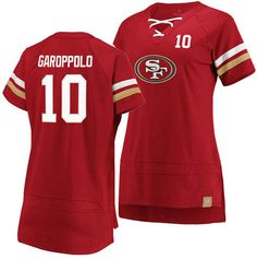 Majestic Women Jimmy Garoppolo San Francisco Draft Him T-Shirt 2019 Casual Loafers, Casual Sneakers, Eagle Mascot, Plus Size Designers, Plus Size Shopping, Mens Sale, V Cuts, San Francisco 49ers
