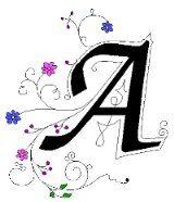 Alfabeto ornamental. | Oh my Alfabetos!