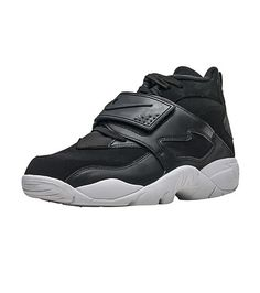 NIKE+Air+Diamond+Turf+Men's+mid+top+sneaker+Velcro+strap+across+forefoot+for+ultimate+support+Encapsulated+Air+Sole+unit+Rubber+outsole+for+traction